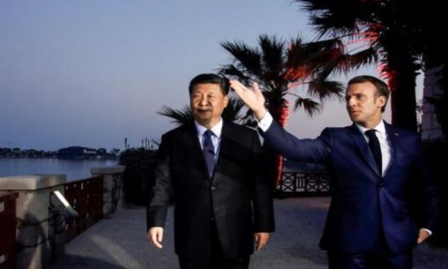 الرئيس الفرنسي يبحث مع نظيره الصيني قضايا هاتفيا